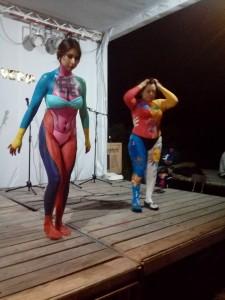 cuerpos pintados jueves