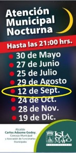 extension horaria septiembre