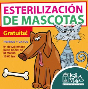 esterilizacion perros gatos el maiten