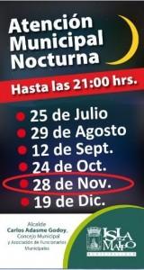 jornada extension horaria noviembre