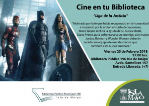 liga de la justicia cine