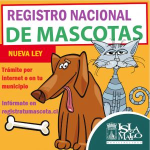 registro mascota isla